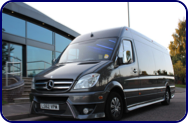 Executive Minibus Hire Coventry